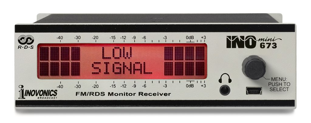 Model 673_Front-Low Signal