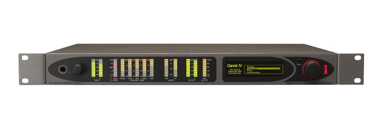 719 DAVID IV FM/HD Radio Broadcast Processor