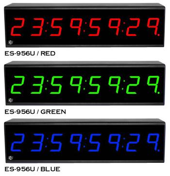 ES-956U SMPTE/EBU Timecode Display Terminal Color option