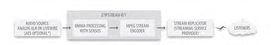 Z / IPStream R/1 Logic Diagram