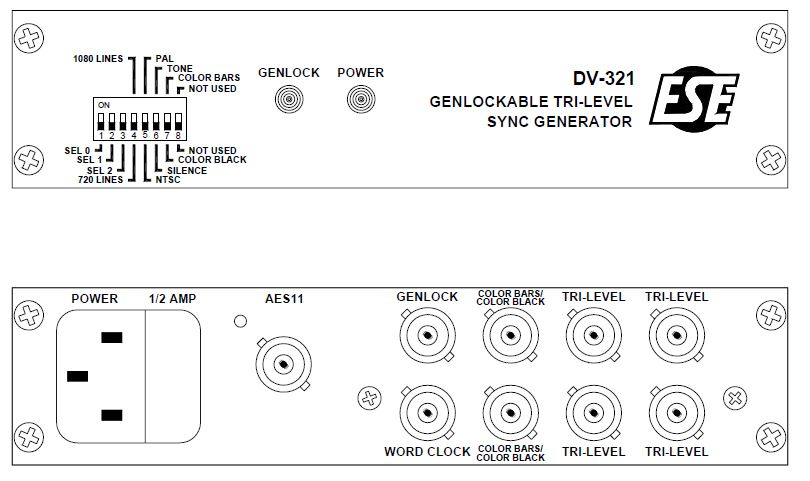 DV-321 Panel Detail