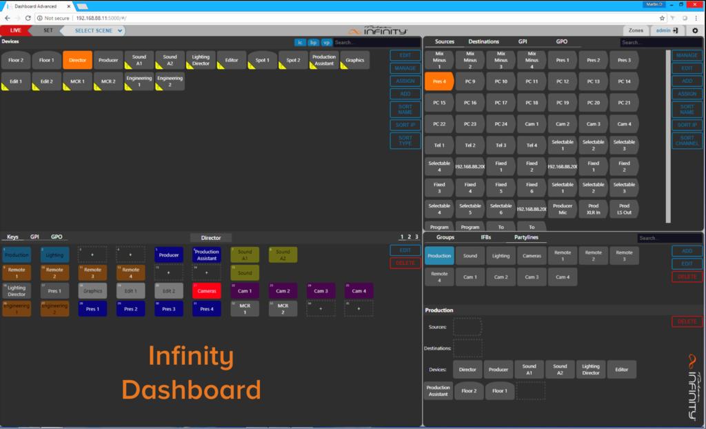 Infinity Dashbordソフト