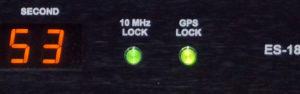 GPS KオプションLOCK LED