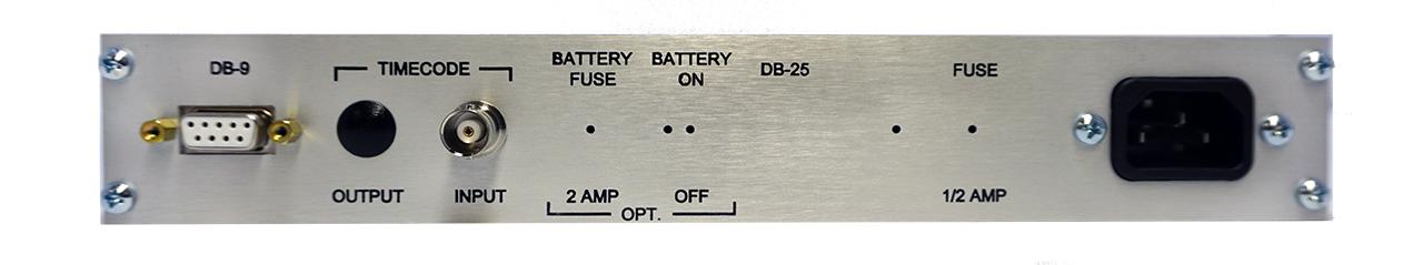 ES-161UEP rear panel