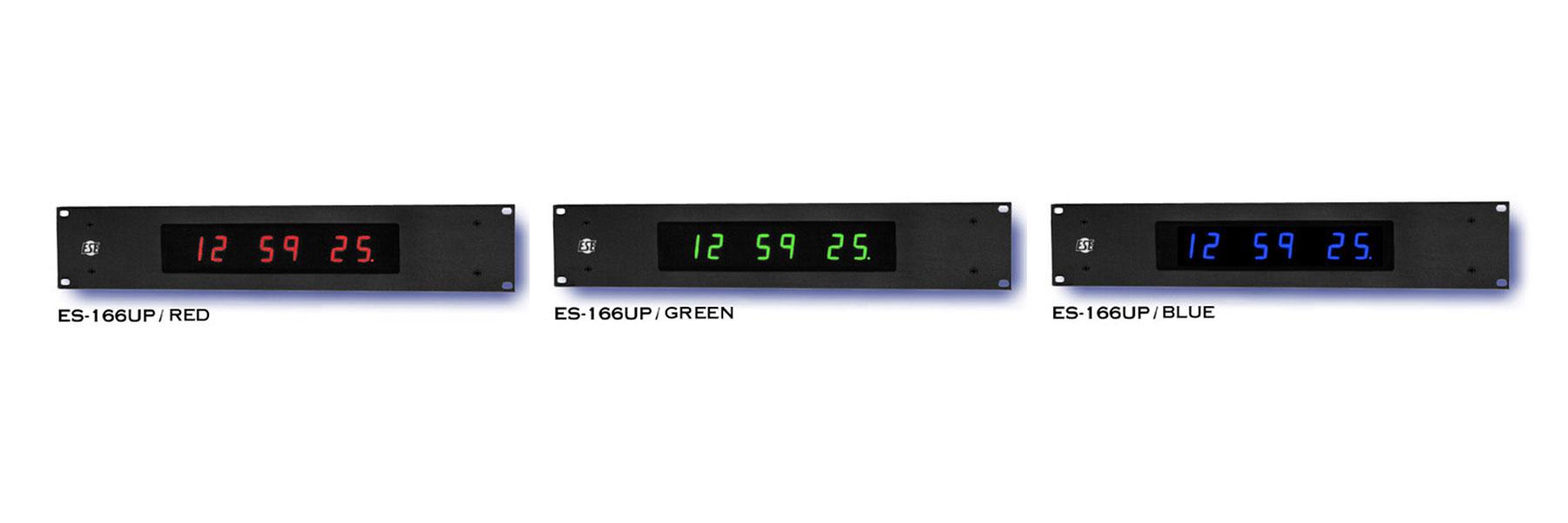 ESE ES-166U Slave Clock with ESE Code and SMPTE//EBU Code Inputs