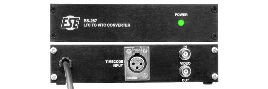ES-267 LTC to VITC Converter