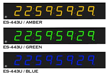 ES-443U color options