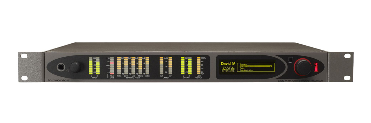 719 DAVID IV FM/HD Radio Broadcast Processor