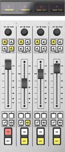 Fusion-4-Fader-Module